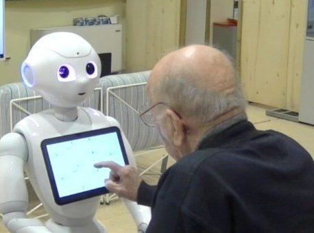 Alzheimer – Robot di telepresenza per assistenza
